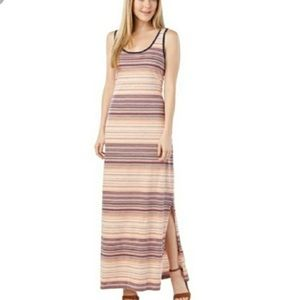 Tommy Hilfiger Striped Maxi Dress With Slit